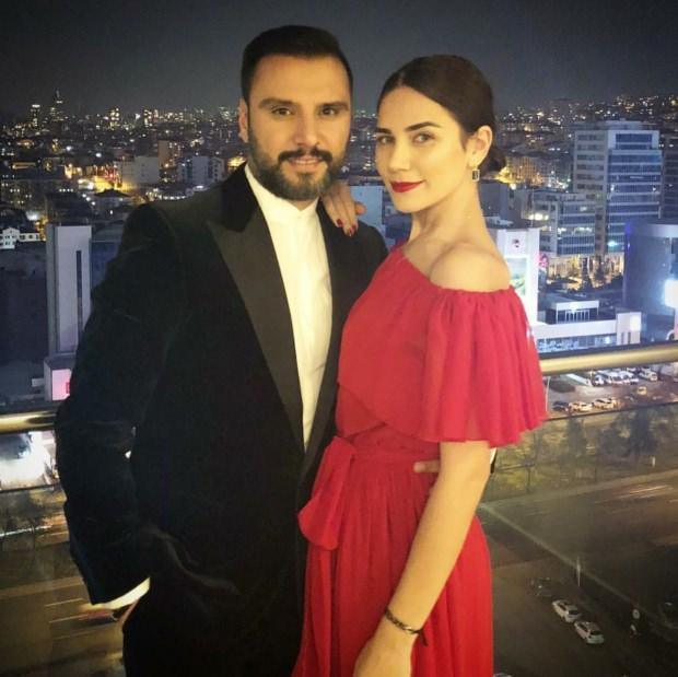 Alişan ve eşi Buse Varol
