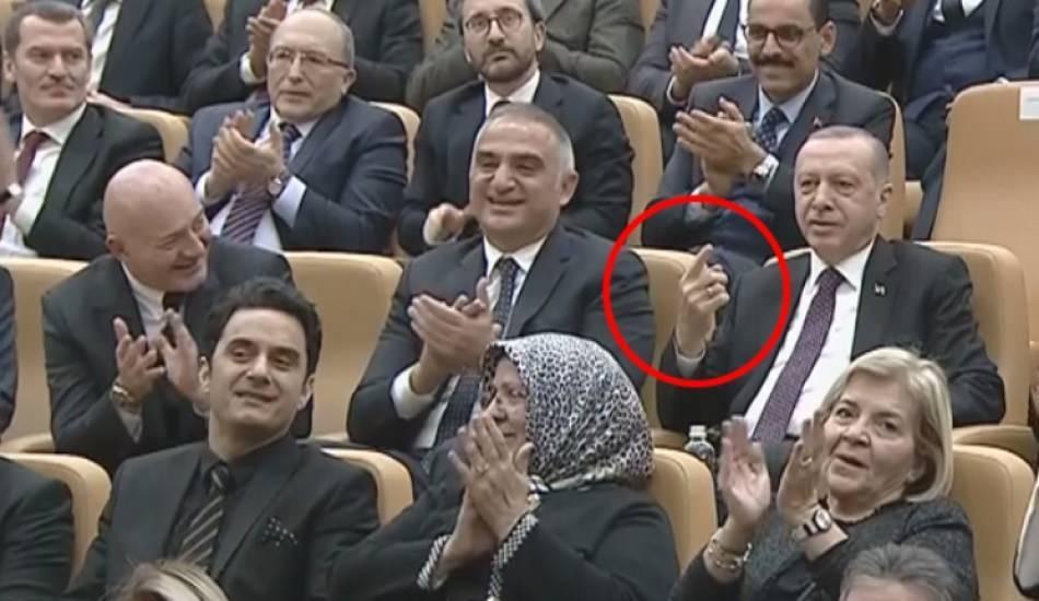 Başkan Erdoğan'dan ödül töreninde Amir Ateş'ten özel istek!