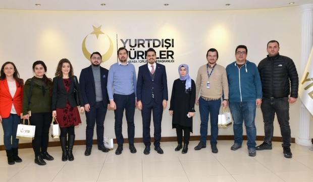 Abdullah Eren'den gazetecilere 10 Ocak tebriği
