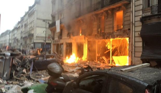 Paris'te büyük patlama! Ölü sayısı belli oldu