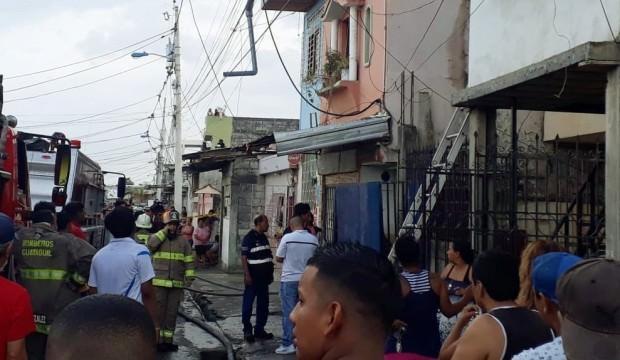 Ekvador'da rehabilitasyon merkezinde yangın 18 ölü