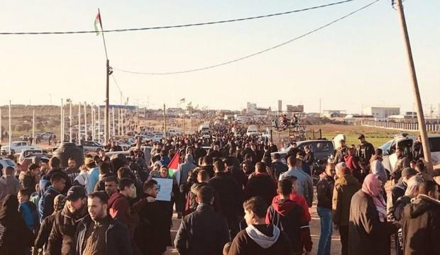 İsrail,  Gazze sınırında 1 kadını şehit etti