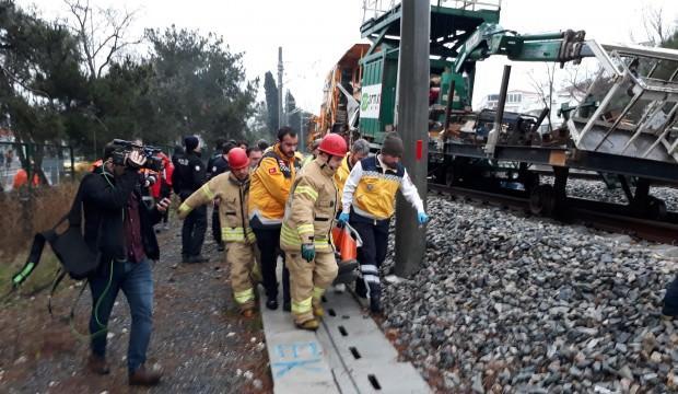 İstanbul'da korkutan tren kazası!