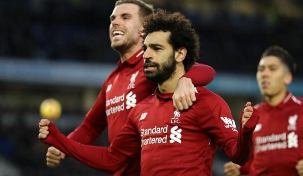 Liverpool'u Salah kurtardı