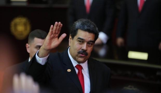 Maduro'dan Fuat Oktay'a: 'Selamünaleyküm'
