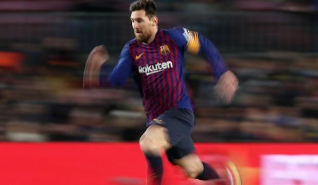 Messi tarihe geçti, Barcelona zorlanmadı