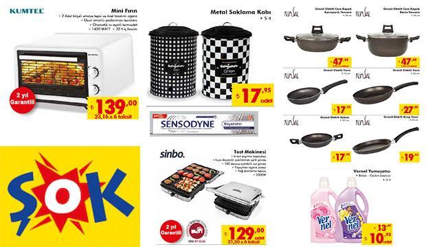 ŞOK 11 Ocak indirimli aktüel ürünler kataloğu! Mutfak ürünlerinde...