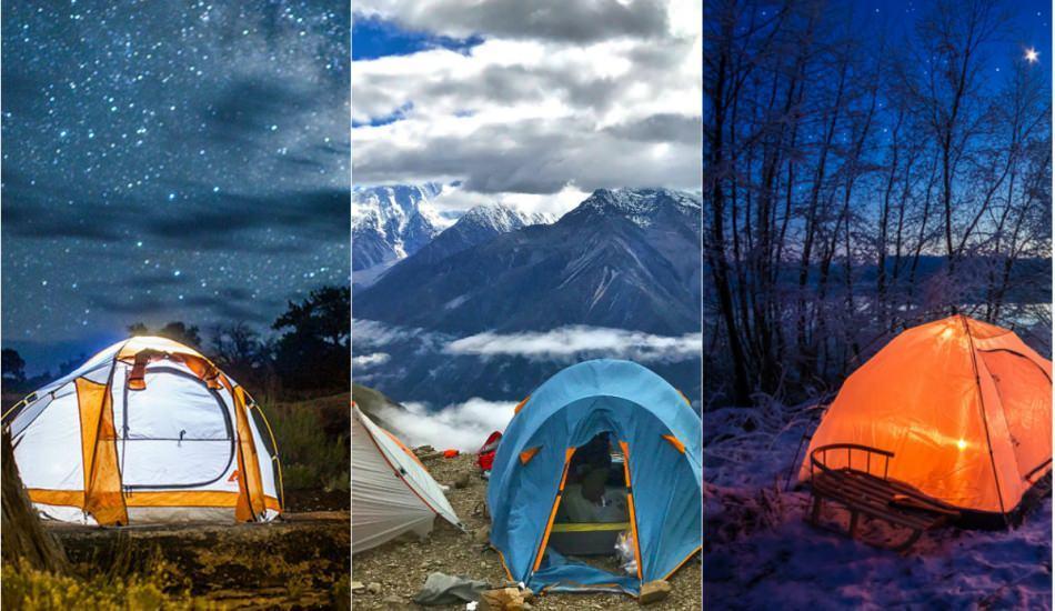 Türkiye'nin en nadide kamp mekanları