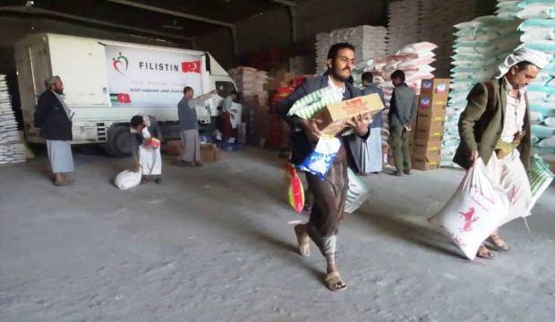Kütahya Filistin Dostları Derneği'nden Yemen'e yardım