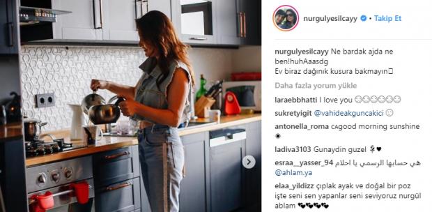 Nurgül yeşilçay instagram