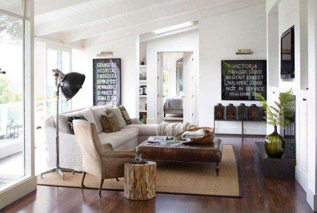 Doğal ev dekorasyonu