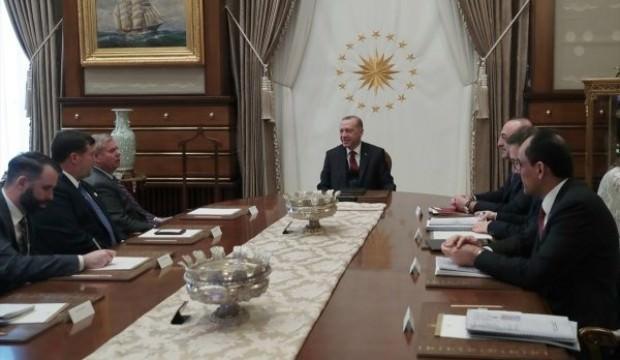 ABD'li senatörün Erdoğan ile görüşmesi sona erdi!