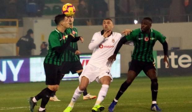 Akhisarspor-Beşiktaş maçında kural hatası