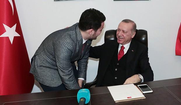 Cumhurbaşkanı Erdoğan bir genç için kız istedi