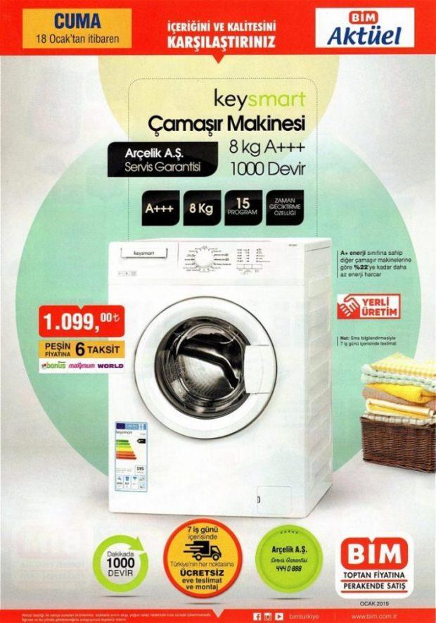 BİM Çamaşır Makinesi