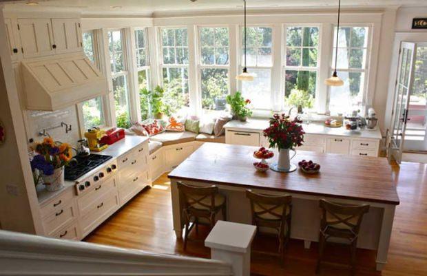 Mutfak oturma alanları