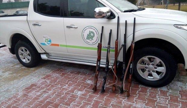 Konya'da yasa dışı kara avcılığına yönelik denetimler