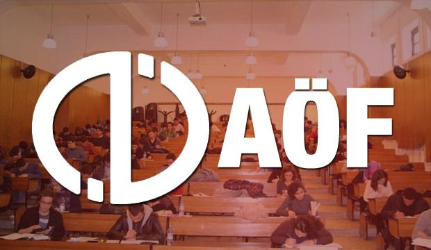 12 - 13 Ocak AÖF güz dönemi final sınav sonuçları belli oldu!