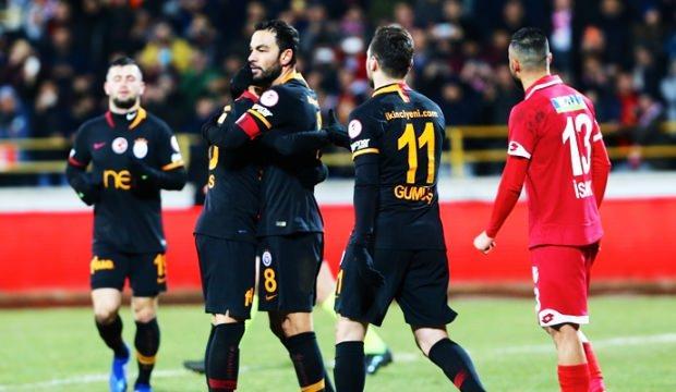 Galatasaray kupada avantajı kaptı!