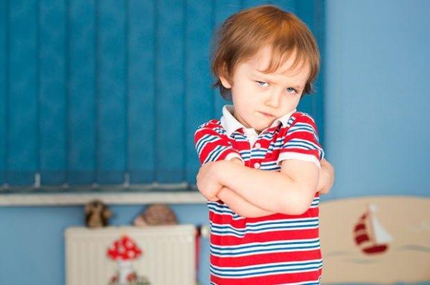 çocukla inatlaşma