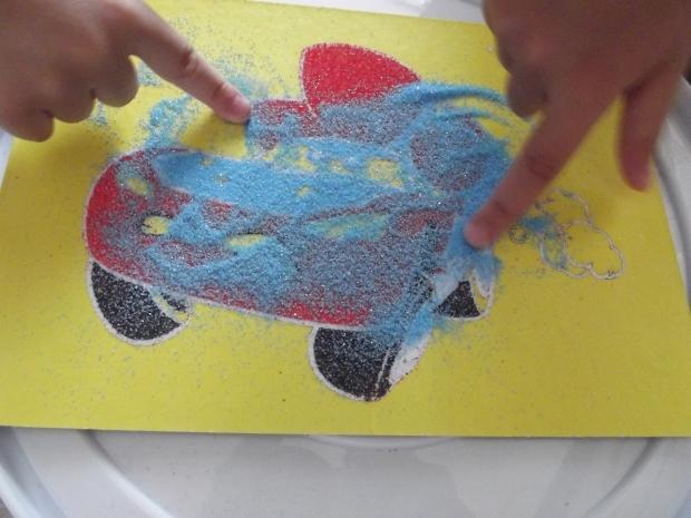 kum boyamanın çocuklara faydaları