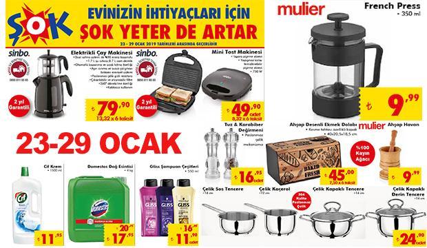 ŞOK 25 Ocak indirimli aktüel ürünler kataloğu! Kaçırılmayacak fiyatlar...