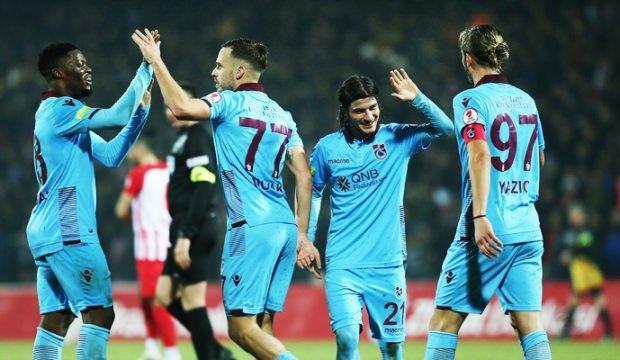 Trabzonspor çeyrek finalde!