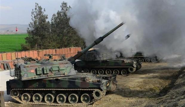 TSK Tel Rıfat'taki teröristleri vurdu