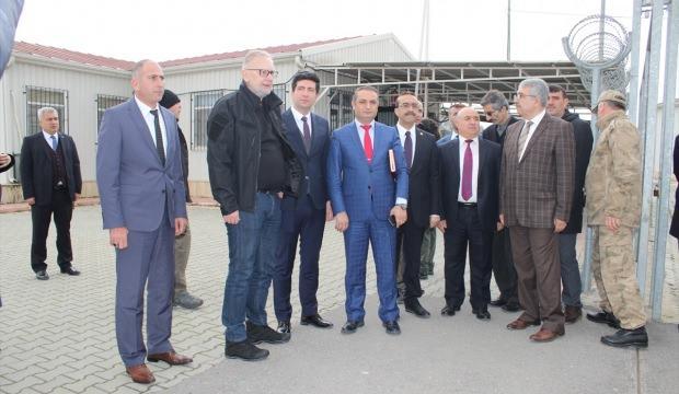 Hırvatistan İçişleri Bakanı Bozinovic Gaziantep'te
