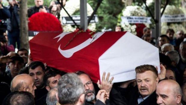 Ayşen Gruda Cenazesi
