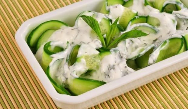 Yoğurt salatası tarifi