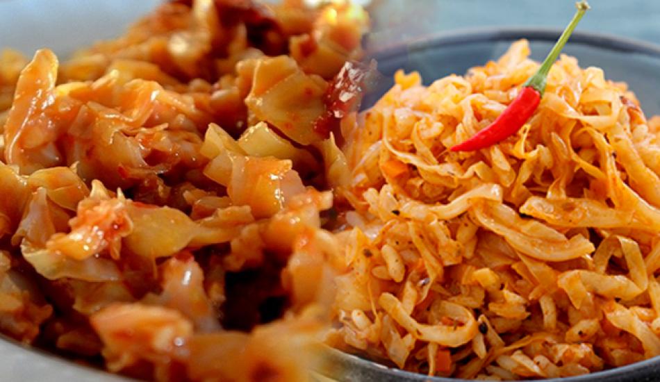 Enfes zeytinyağlı kapuska yemeği nasıl yapılır?