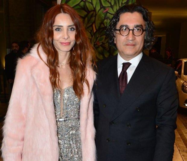 Nur Fettahoğlu ile eşi Levent Veziroğlu