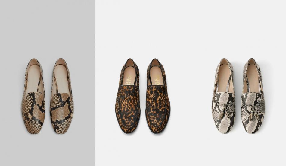 Sezonun trend düz taban ayakkabı modelleri