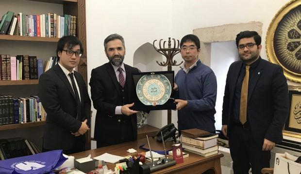 Japon Araştırmacı Doç. Dr. Moriyama Teruaki MEDİT'de