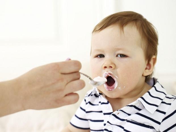 bebekler için yoğurt yapımı