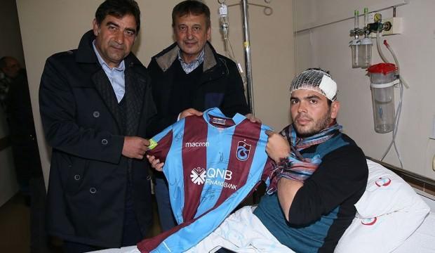 Trabzonspor'dan anlamlı ziyaret