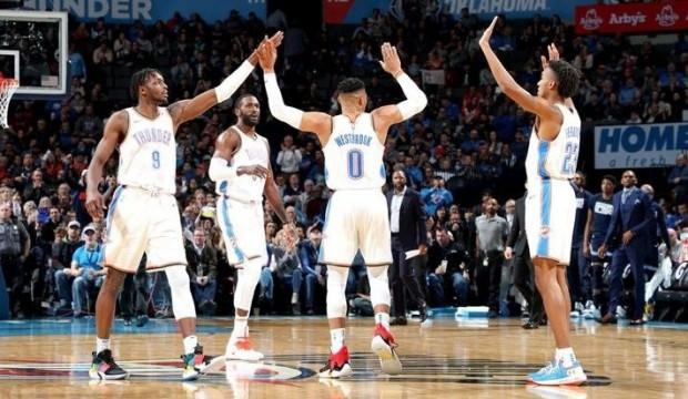 Westbrook, Chamberlain'in NBA rekoruna ortak