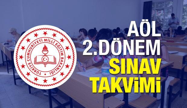 2019 AÖL 2.dönem sınav takvimi! (MEB) Açık Lise sınavı için tarih belli oldu...