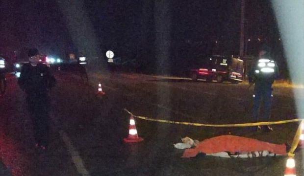 Sakarya'da kamyonun çarptığı kadın öldü