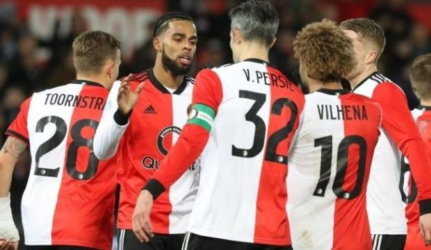 Feyenoord evinde gol şov yaptı