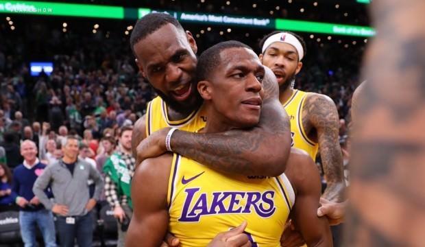 Lakers son saniye basketiyle kazandı