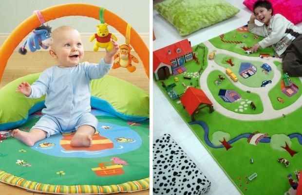 bebekler için oyun halısı