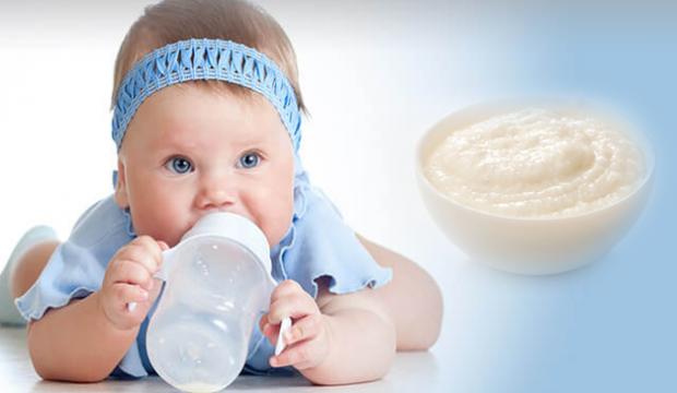 Bebekler için kolay pirinç unlu mama tarifi