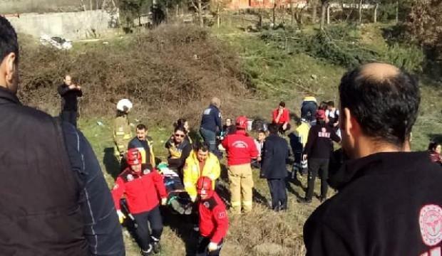 Yolcu otobüsü, kamyona çarptı: 29 yaralı