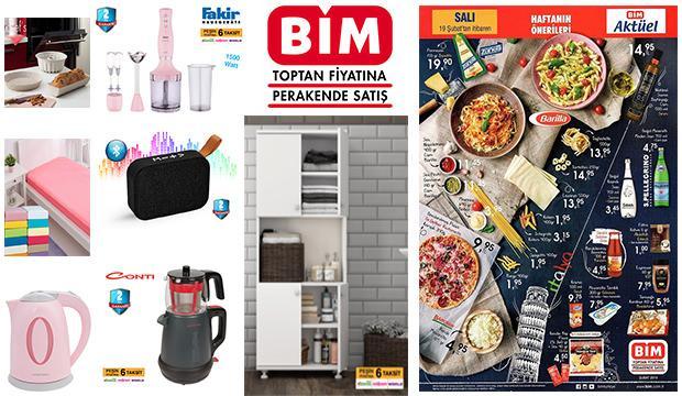 BİM 16 -19 ŞUBAT aktüel ürünler kataloğu!