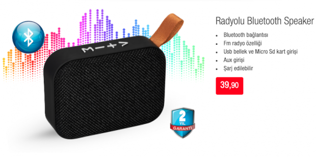 BİM Bluetooth Speaker