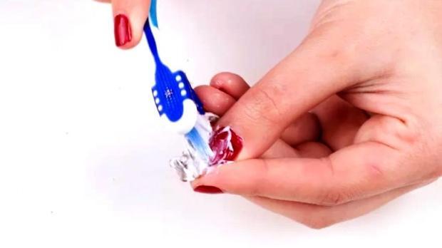 Diş fırçası ile temizleme yöntemi