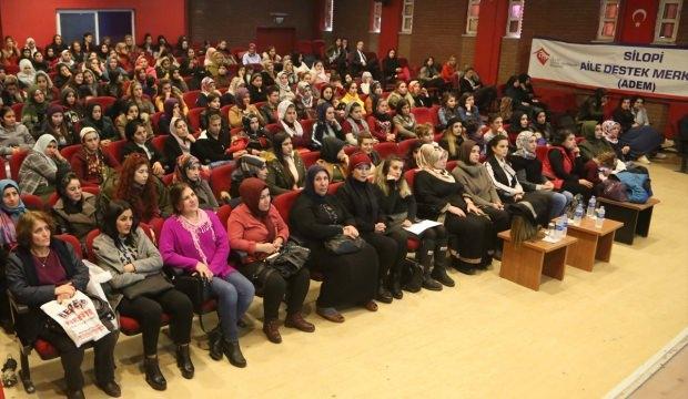 Silopi'de kanserde erken teşhis konulu semineri