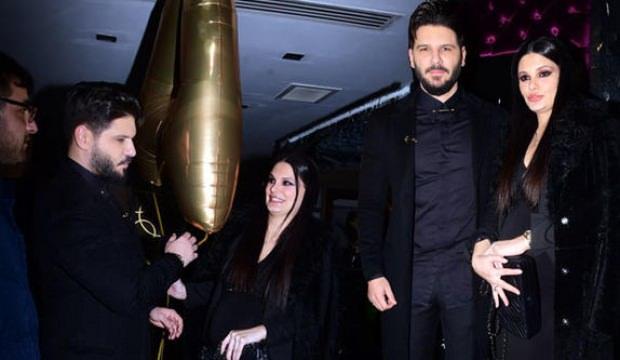 Almeda Albazi ile eşinden çifte kutlama